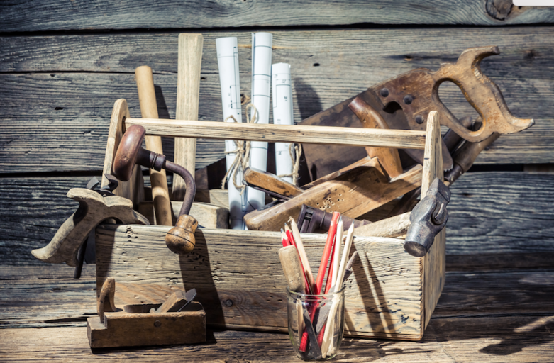 What's inside your toolbox? Can you find your tools?